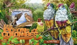 Togo 2016 Fauna Pigeons - Togo (1960-...)