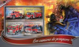 Togo 2016 Fire Trucks - Togo (1960-...)