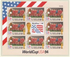 St.Vincent And The Grenadines 1994 FIFA World Cup Football In The USA Souvenir Sheet MNH/** - Belgium (H45) - Fußball-Weltmeisterschaft