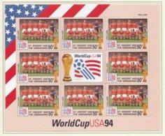 St.Vincent And The Grenadines 1994 FIFA World Cup Football In The USA Souvenir Sheet MNH/** - Holland (H45) - Fußball-Weltmeisterschaft