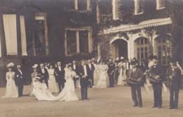 ALLIER LURCY LEVY CHATEAU DE BEGUIN CARTE PHOTO 27 SEPTEMBRE 1906 - Francia