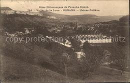 11684008 Ornans Panorama Vallee De La Loue Usines Oelikon Ornans - Non Classés