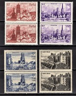 FRANCE 1945 - SERIE 4 PAIRES NEUFS**  / Y.T. N° 744 A 747  - - France