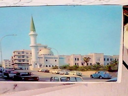 LIBIA LIBYA TRIPOLI MOSCHE MOSQUE SIDI BILIMAN AUTO CAR FIAT VW  TOYOTA MOTOR   V1978  HB8476 - Libia