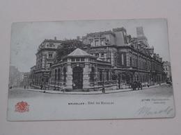 Hôtel Des MONNAIES ( N° 46 - Grand Bazar ) Anno 1904 ( Zie/voir Foto ) ! - Cafés, Hotels, Restaurants