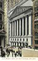 J P Morgan's Office And Stock Exchange New York RV - New York City