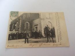 BP - 1600 - ETEIGNIERES - L'Inventaire Du 5 Mars 1906- Le Commissaire De Police Fait Les Sommations - France
