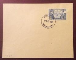 PS63 N° 357 Constitution Fédérale Des Etats-Unis Lettre Paris 121 28 R.des Fêtes 12/9/1937 - France