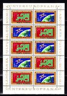 Romania, 1974, INTEREUROPA, Space, Sheetlet - Europe