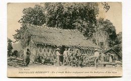 CPA  Nouvelles Hébrides Coprah Maker Trafiquant Avec Les Indigènes D'Ambrym   VOIR   DESCRIPTIF  §§§ - Vanuatu