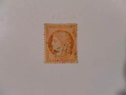 FRANCE  YT38 TYPE CERES Siège De Paris Dentelée 40c. Orange Losange GC2047 - 1870 Siege Of Paris