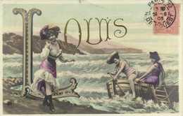LOUIS  Jeunes Femmes En Barque RV - Prénoms