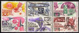 Czechoslovakia, 1967, Space, 6 Stamps - Europe