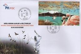 Turkey (2018) - FDC -  /  Aves - Birds - Oiseaux - Vogel - Flamingo - Vogels