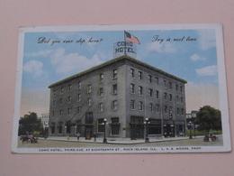 COMO Hotel > ROCK ISLAND ILL. ( 46L. E. West Gum C° ) Anno 1922 ( Detail : See Photo ) ! - Etats-Unis