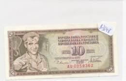 Numismatique -B3548 -Yougoslavie 10 Dinara 1978 ( Catégorie,  Nature état ... Se Référer Au Double Scan)-Envoi Gratuit - Billets