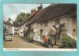 Old Small Post Card Of Bridge Street,Sidbury,East Devon,N69. - Other