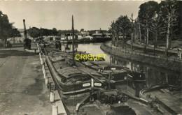 59 Lille, Quai De La Naute Deûle, Belles Péniches Au 1er Plan - Lille