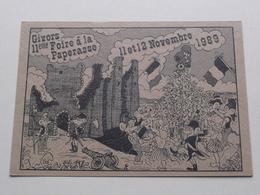 FOIR A LA PAPERASSE > Nov 1989 ( Org. M.J.C. De GIVORS > Dessin Georges Millon ) ( Voir Photo ) ! - Givors