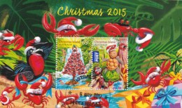 Christmas Island 2015 Christmas Minisheet CTO - Christmas Island