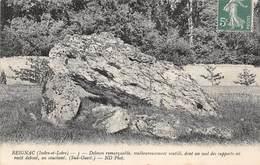PIE-19-T-1742 : DOLMEN REIGANC INDRE ET LOIRE - Dolmen & Menhirs