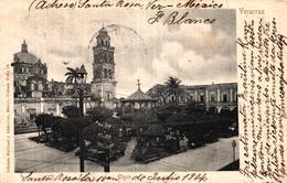 MEXIQUE - VERACRUZ - PLAZA - Messico