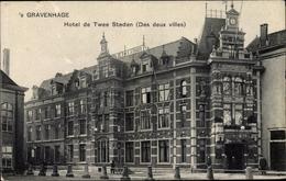 Cp 's Gravenhage Den Haag Südholland, Hotel De Twee Steden - Pays-Bas