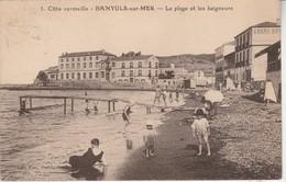 66 - BANYULS SUR MER - La Plage Et Les Baigneurs - Banyuls Sur Mer
