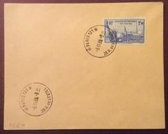 PS69 N° 458 Exposition Internationale New York 1939 Lettre Paris 121 28 R.des Fêtes 5/11/1939 - France