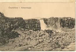 Oxararfoss I Almannagja-reykjavik-islande -cpa - Islande