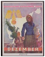 Dt- Reich (007663) Propaganda WHW, Grossdeutschlands Winterhilfswerk,Türblatt 1939/ 40 Dezember - Deutschland