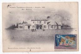 Carte Postale       Exposition International Electricité Marseille 1908 - Esposizioni