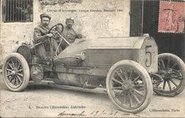 *CIRCUIT D'AUVERGNE. COUPE GORDON BENNETT 1905. N°5 BRAUNN ( MERCEDES ) AUTRICHE - Bus & Autocars