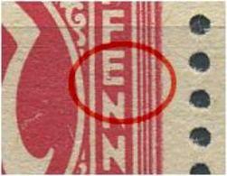 8z F60 (VI) Postfrisch, Waag. Paar, Gepr. Dr. Koch VP (1198) - American/British Zone