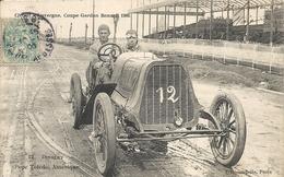 *CIRCUIT D'AUVERGNE. COUPE GORDON BENNETT 1905. N°12 DINGLEY ( POPE TOLEDO ) AMERIQUE - Bus & Autocars