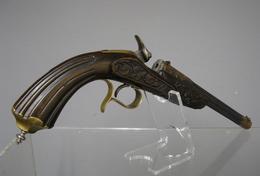 Pistolet De Salon Systeme  Flobert 6m/m  1860 - Armes Neutralisées
