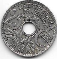 France 25 Centimes  1928  Km  867a   Xf - France