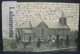 CP. 72. Callenelle Eglise Et Cimetière - Peruwelz