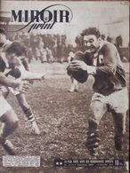 Revue Miroir Sprint N°34 (14 Janv 1947) Stade Toulousain - Montauban - Roubaix Et Strasbourg - Boeken, Tijdschriften, Stripverhalen