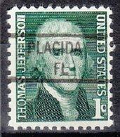 USA Precancel Vorausentwertung Preo, Locals Florida, Placida 841 - Vereinigte Staaten
