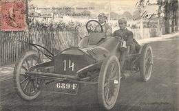 *CIRCUIT D'AUVERGNE. COUPE GORDON BENNETT 1905. N°14 BLANCHI ( WOLSELEY ) ANGLETERRE - Bus & Autocars