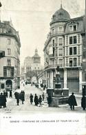 GENEVE FONTAINE DE L'ESCALADE ET TOUR DE L'ILE - GE Genève