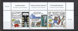 Schweiz  **   Fumetto Comic Festival Neuausgabe 7.3.2019 - Nuevos