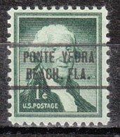 USA Precancel Vorausentwertung Preo, Locals Florida, Ponte Vedra Beach 736 - Vereinigte Staaten