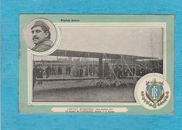 Circuit Européen, Juin, Juillet 1911 - Le Départ De Contenet, Arrivé 6e à Reims - Biplan Astra. - Meetings