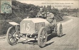 *CIRCUIT D'AUVERGNE. COUPE GORDON BENNETT 1905. N°15 WERNER ( MERCEDES ) ALLEMAGNE - Bus & Autocars