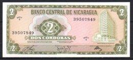 619-Nicaragua Billet De 2 Cordobas 1972 C395 Neuf - Nicaragua