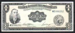 619-Philippines Billet De 1 Peso 1949 WS986 Sig.7 Neuf - Philippines