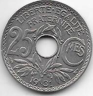 France 25 Centimes  1931  Km  867a   Xf - France