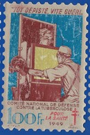 Timbre Vignette Antituberculeux   Tôt Dépisté Vite Gueri  1940   Dimension: 9,5 X 14 Cm  Année 1949 - Erinnofilia